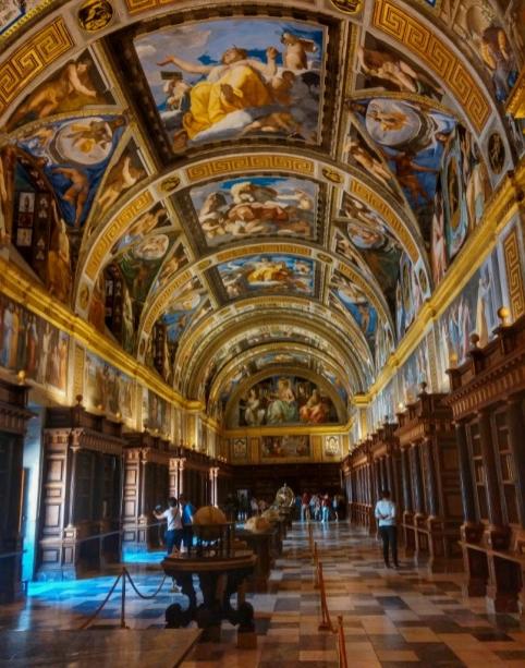 Biblioteca de El Escorial.