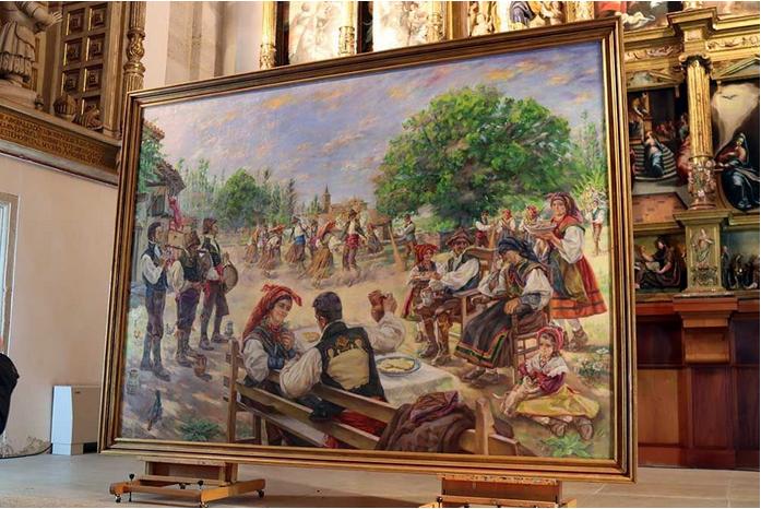 El Baile de la Boda. (1903) Ricardo Segundo García. Madrid.