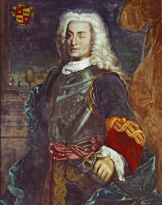 Blas de Lezo y Olavarrieta. Teniente General de la Armada Española. Años de servicio: 1704-1741. Museo Naval de Madrid.