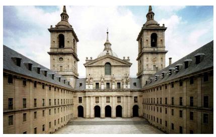 Patio de los Reyes. San Lorenzo de El Escorial.