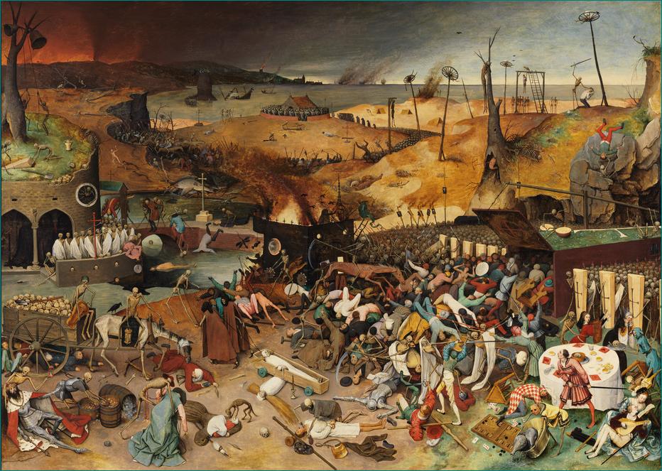 El triunfo de la Muerte (h. 1562) Pieter Brueghel el Viejo (1525-1569) Renacimiento. Museo del Prado. Madrid.