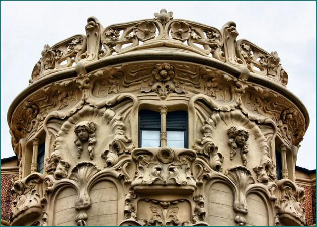 Sociedad General de Autores y Editores (SGAE) Palacio de Longoria, una joya de la arquitectura modernista de Madrid (1902-1904) Arquitecto, José Grases Riera.