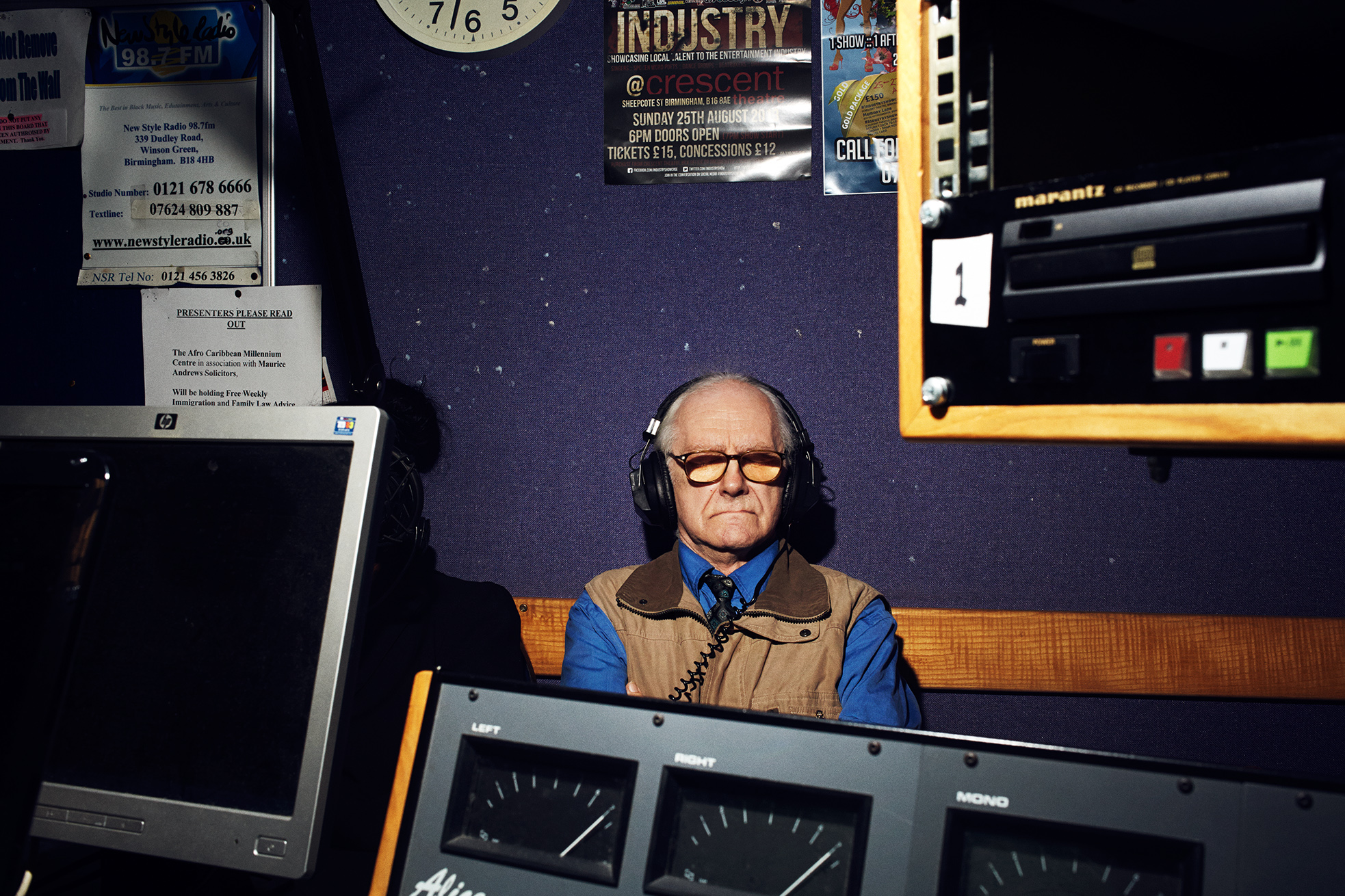"""Ray,""""Getting older does worry me sometimes, when you think of the future and who will look after you. So it's good to talk about things on Radio Club."""""""