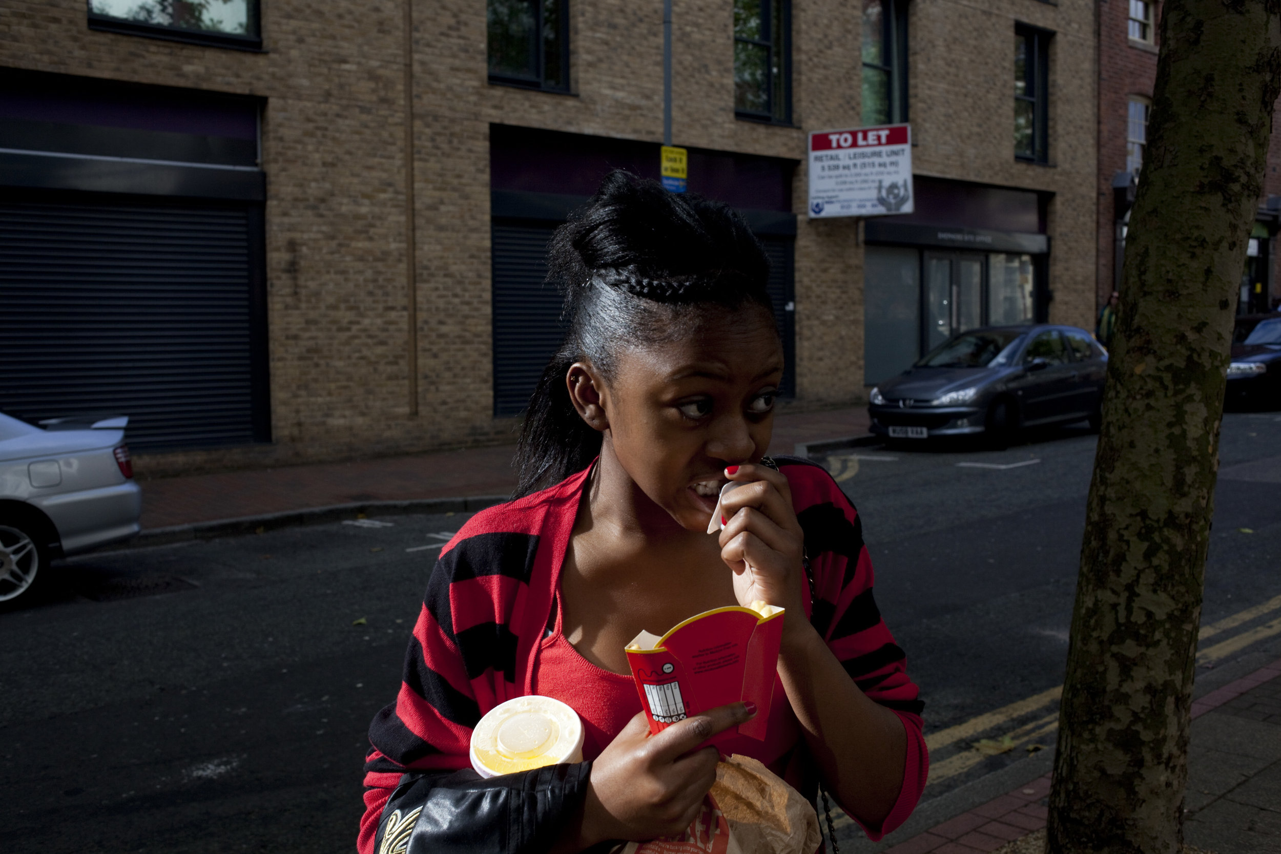 """Aailyah, """"It's cheap and my mates come here. I'd still come here if the food tasted bad as long as my mates came here."""""""
