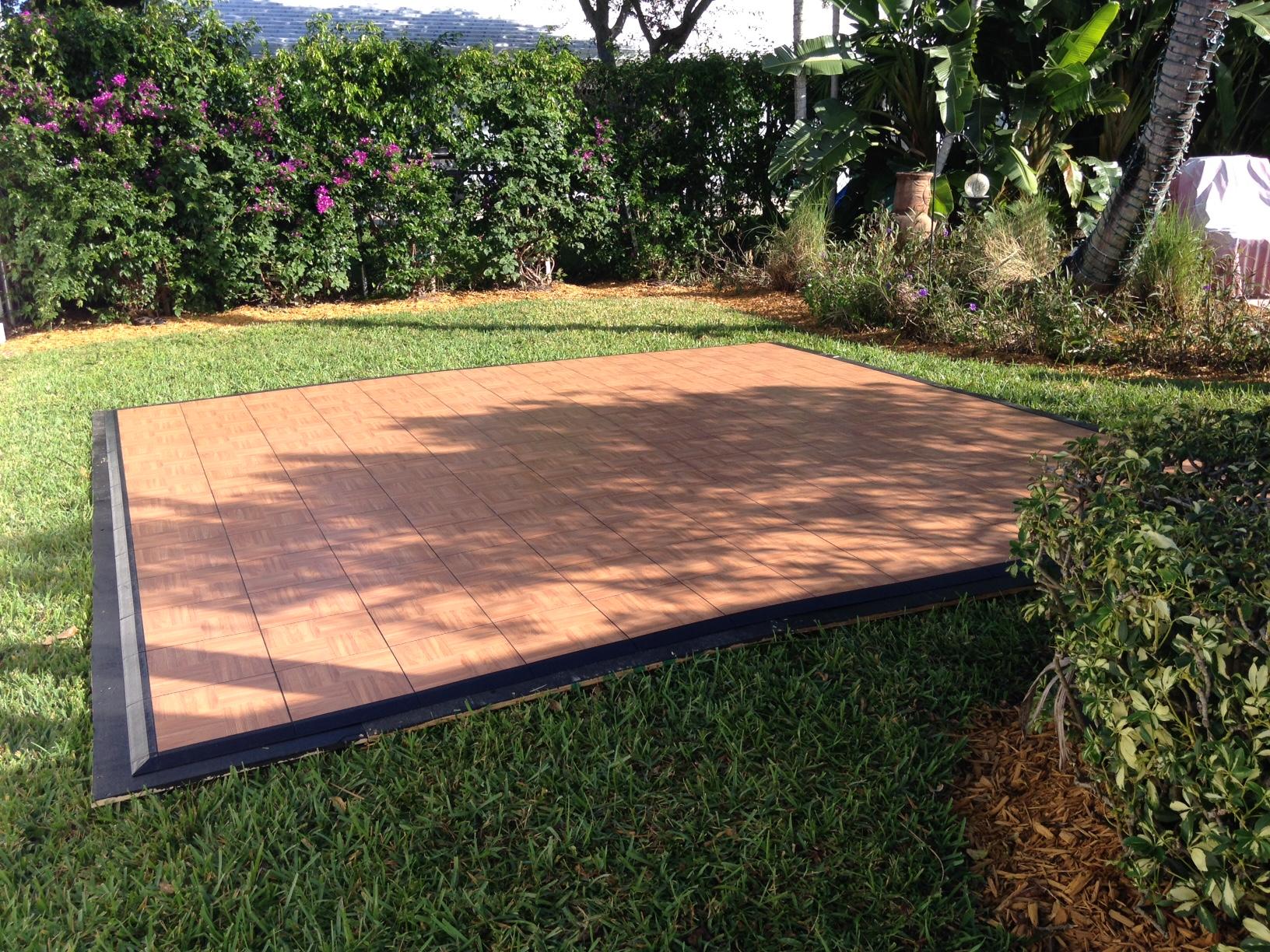 Outdoor Gr Dance Floor Oak