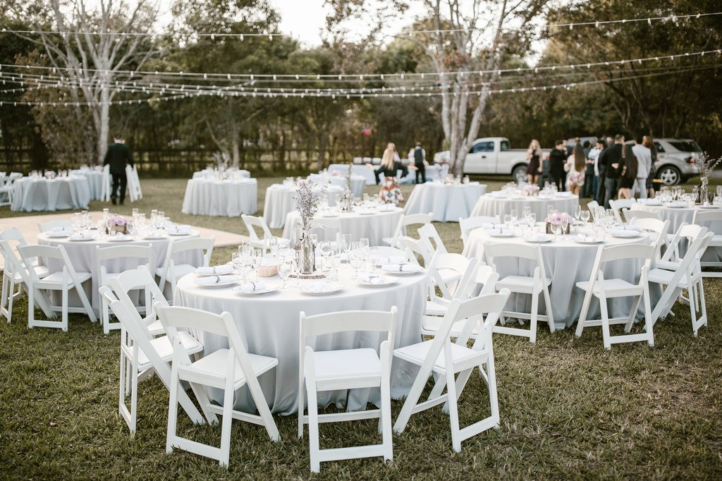 60 Round Table Seats 8 10 Tent, Round Table 60