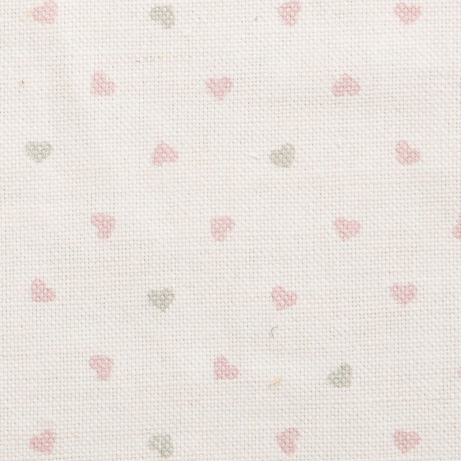 Hearts, Rose Pink & Light Grey