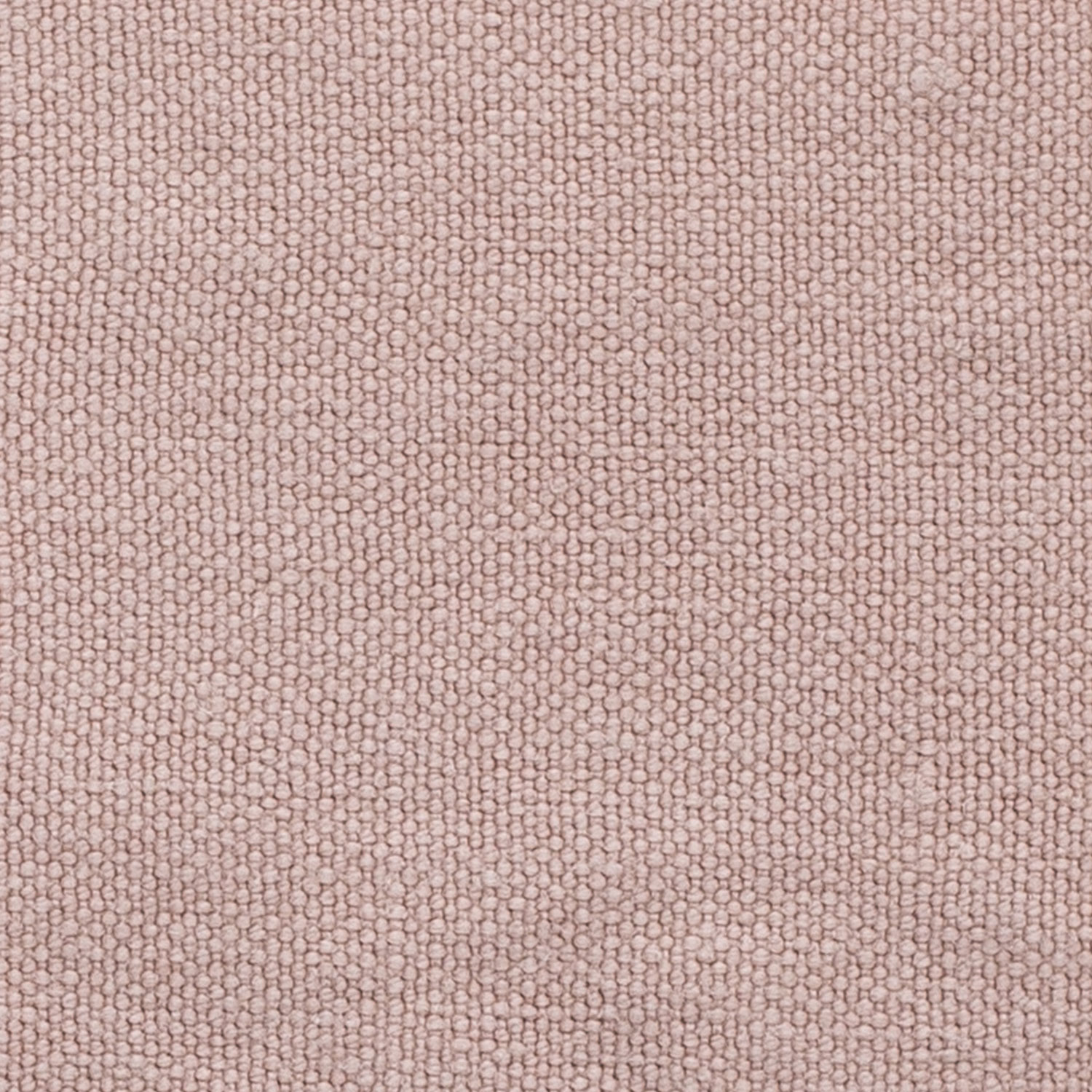 Plain, Chunky Stonewashed Linen Old Pink