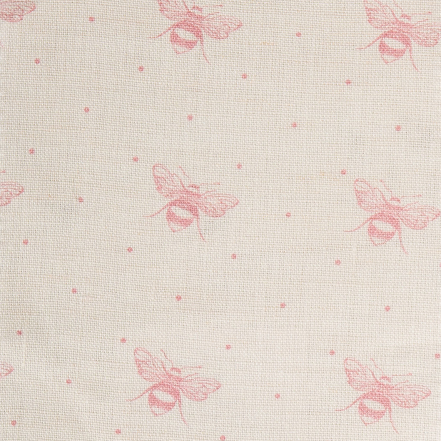 Just Bees, Blush Pink on Ivory