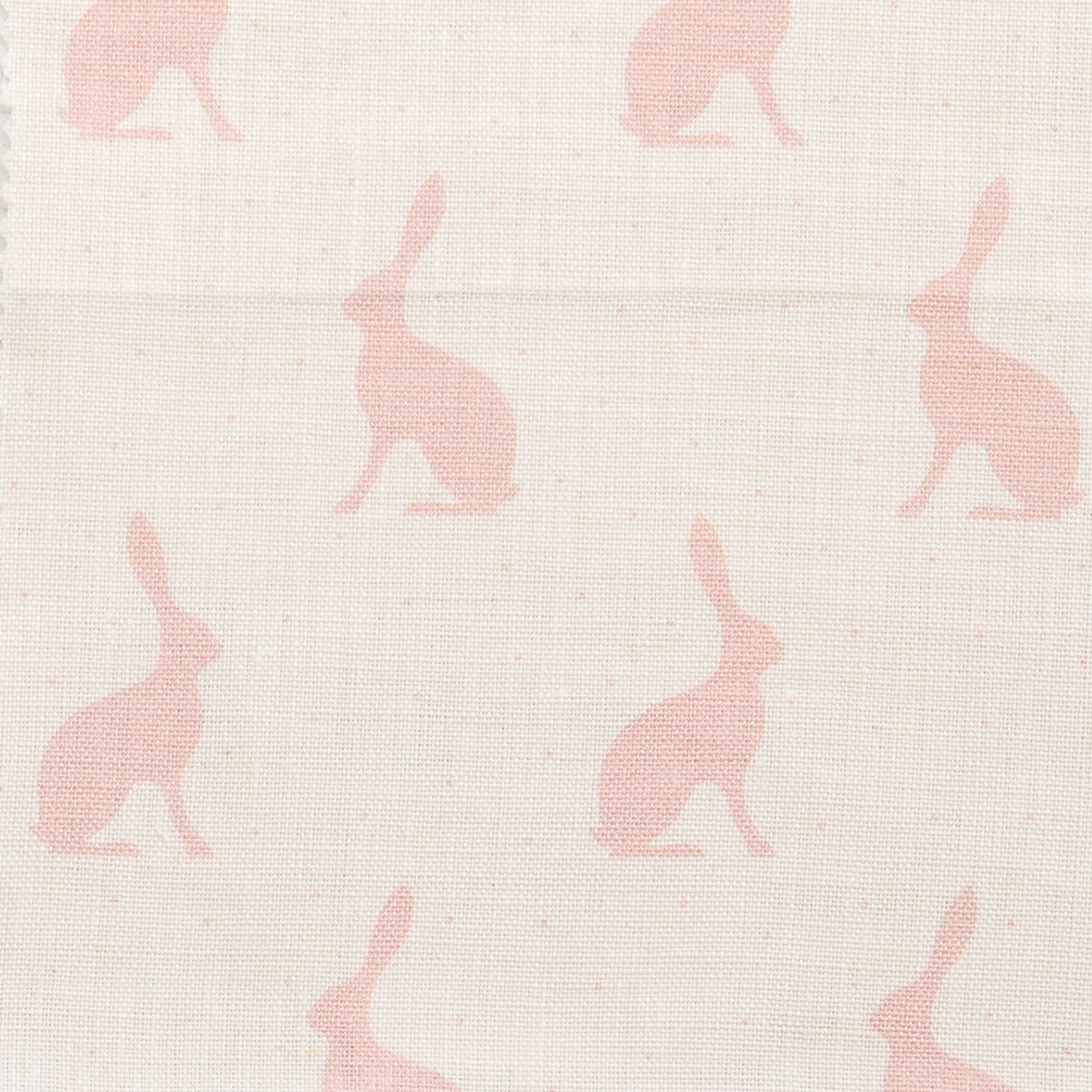 Mini Hares, Pink Icing on Ivory