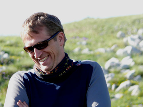 Andrew Straw, an international cycling guide and business owner