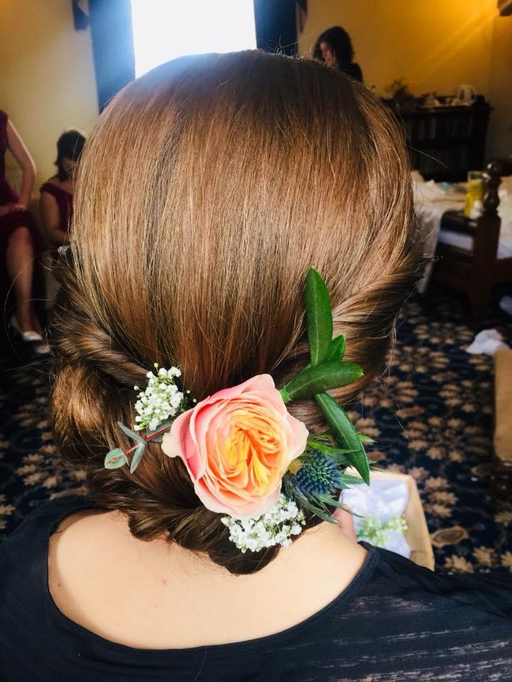 The Madeup Team - Floral Hair Design for Brides