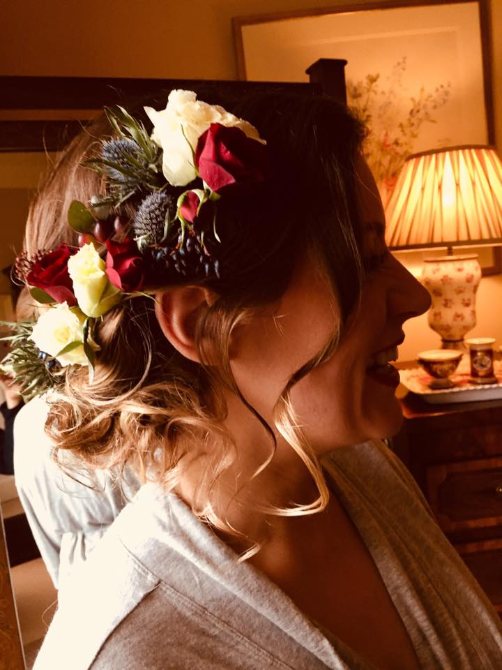 Floral Hair Design by The Madeup Team