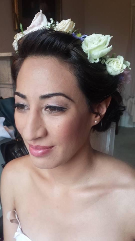 Bridal Floral Hair Designs