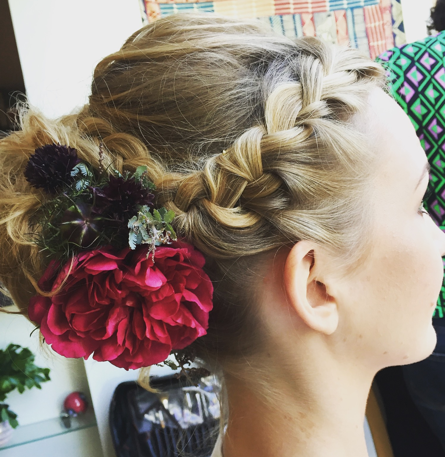 Braids and Flowers