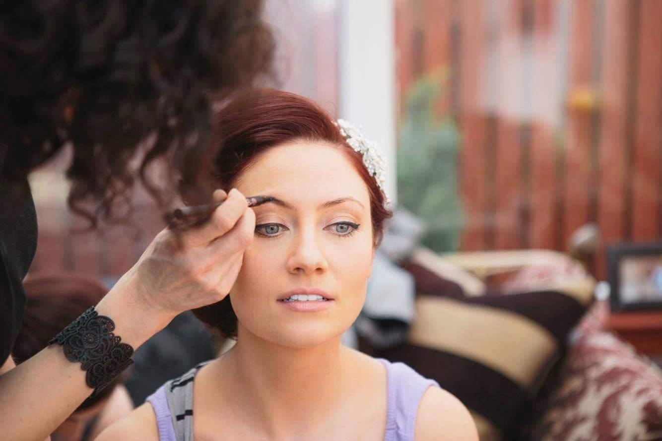 Bridal Makeup - Eyebrow Definition