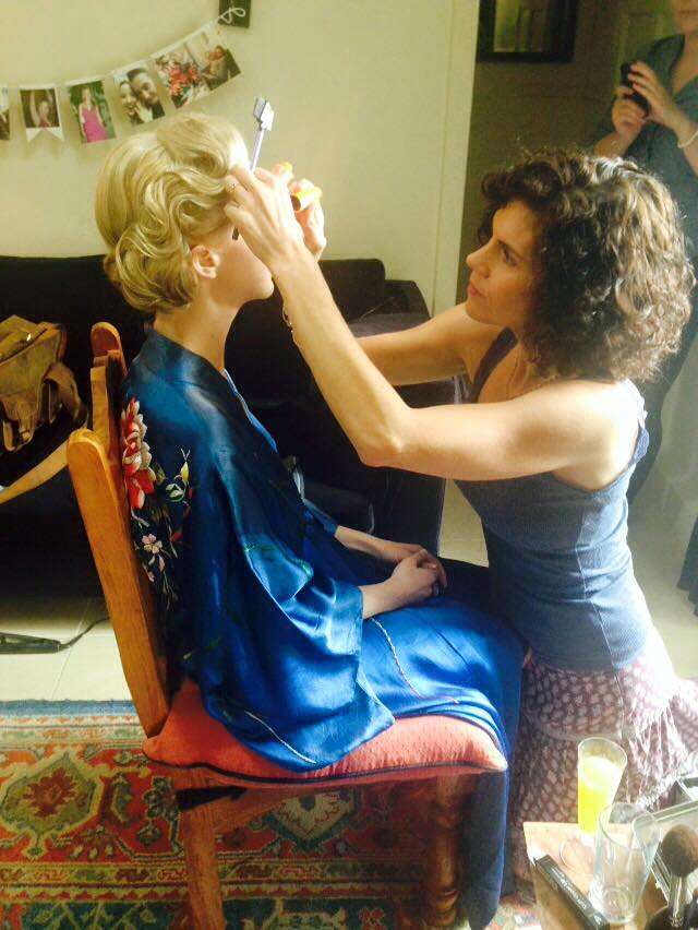 sharon making up bride to be - the madeup team.jpg