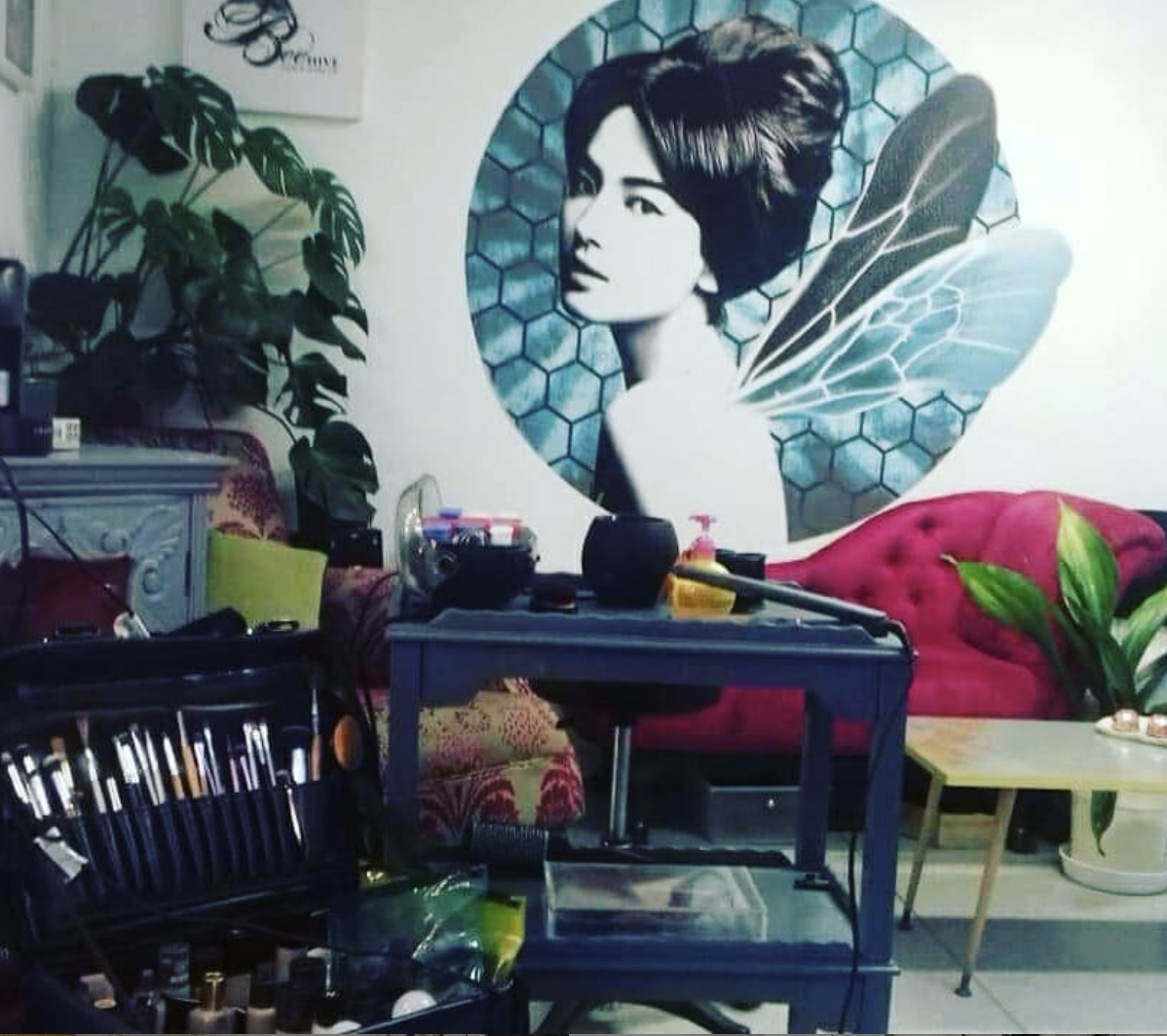 Beehive: Our wee salon <3