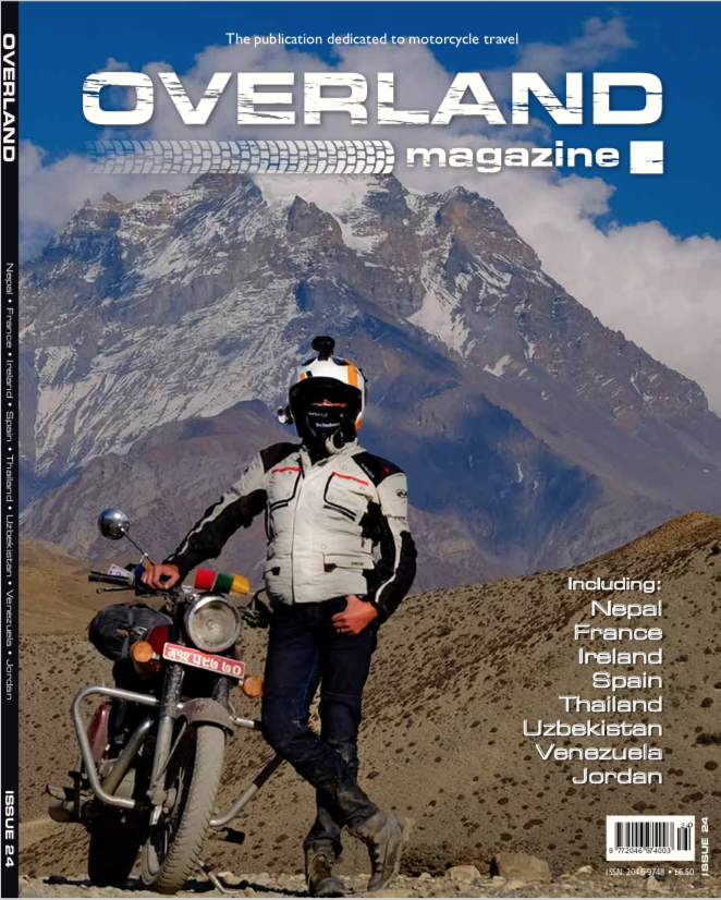 You can read about our successful trip in Nepal in the current issue of Overland Magazine UK.