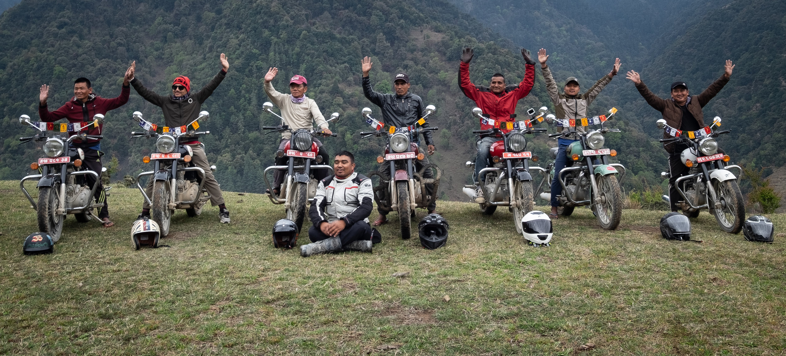 Travel with the most experienced and dedicated support staff in Nepal. From Everest Basecamp to remote expeditions in India and Tibet, these guys have done it all, and now they want to do it all for you.