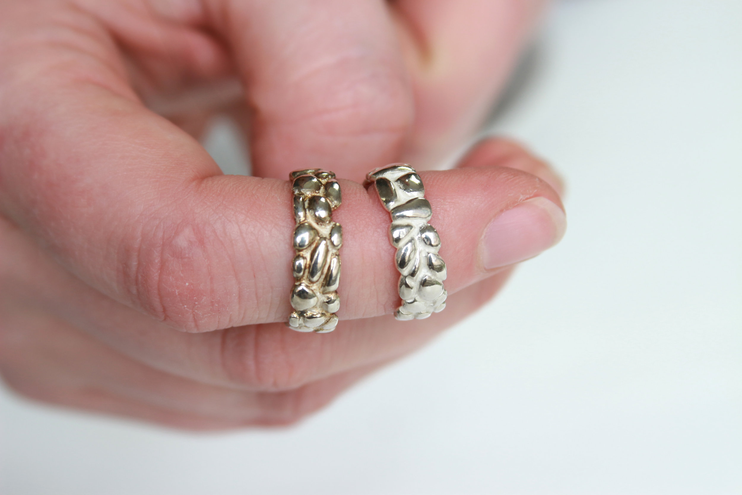 Before and After : Clean your silver jewelry at home!