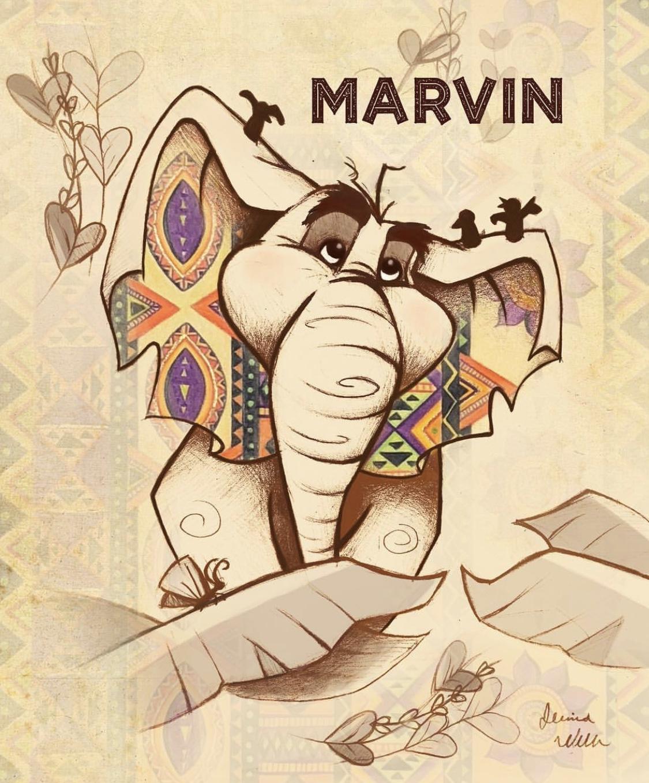 Marvin the Elephant   2018