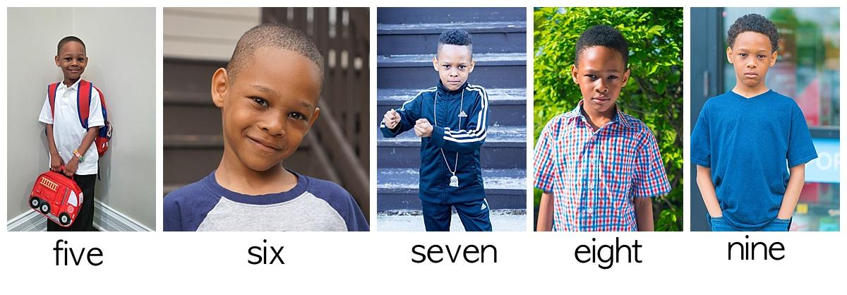 Micah Birthday Portraits