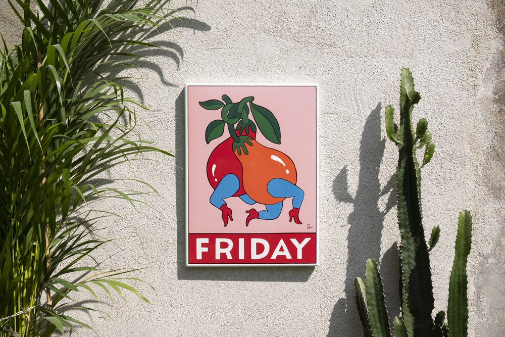 """""""Friday"""" By Parra"""