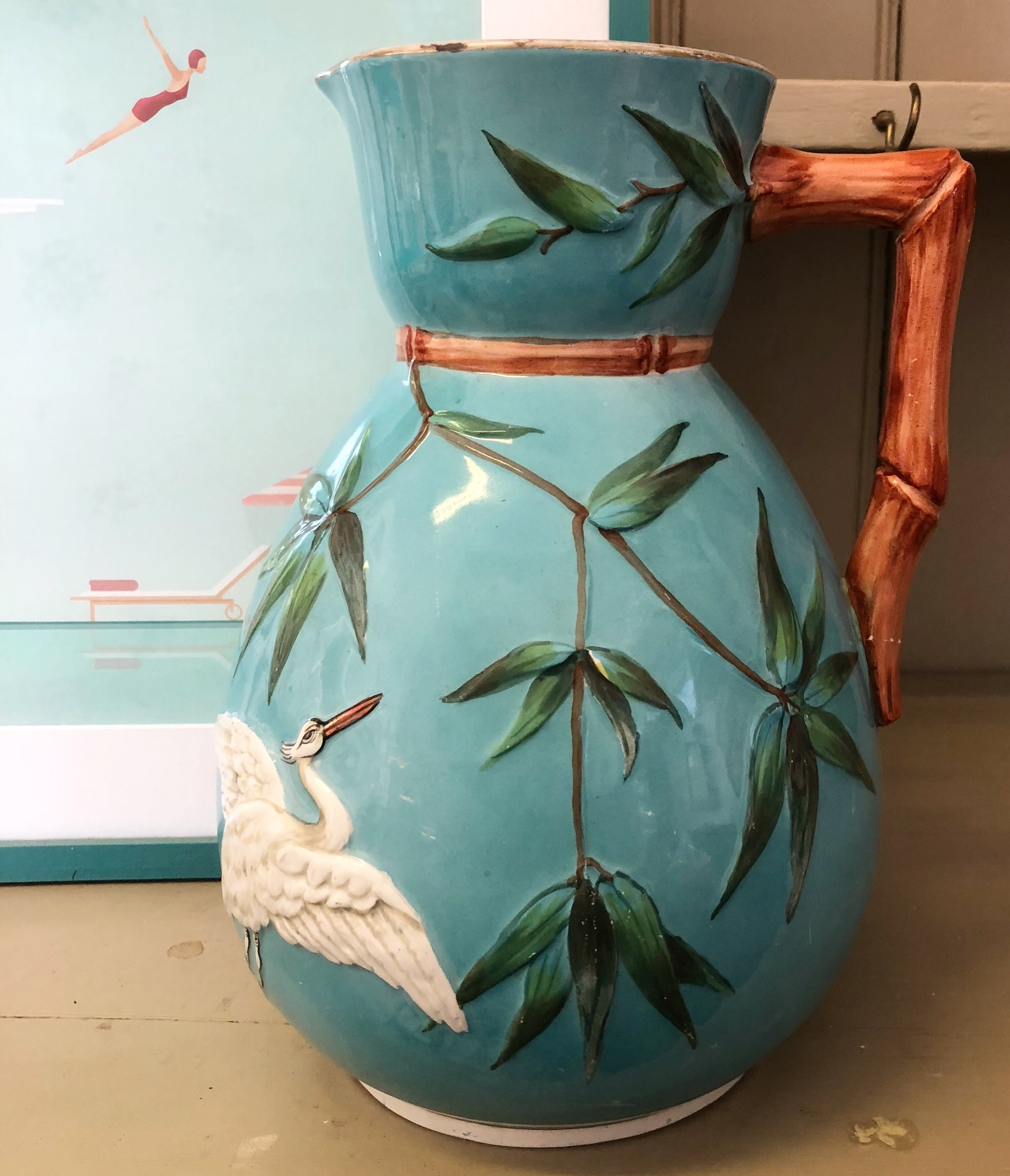 A Large Victorian Jug Dating From 1883