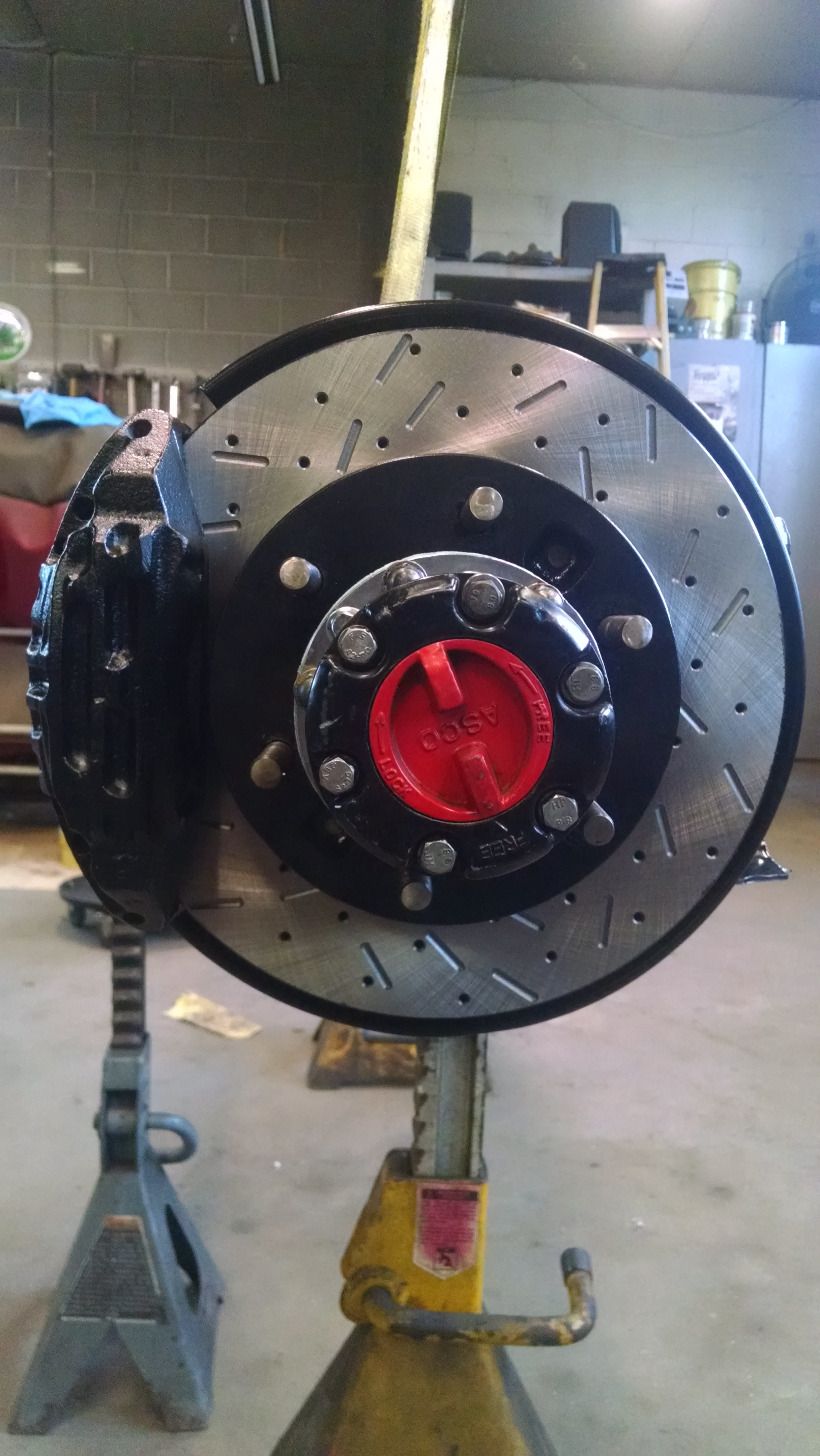 A lot more power need more brakes to slow it down.