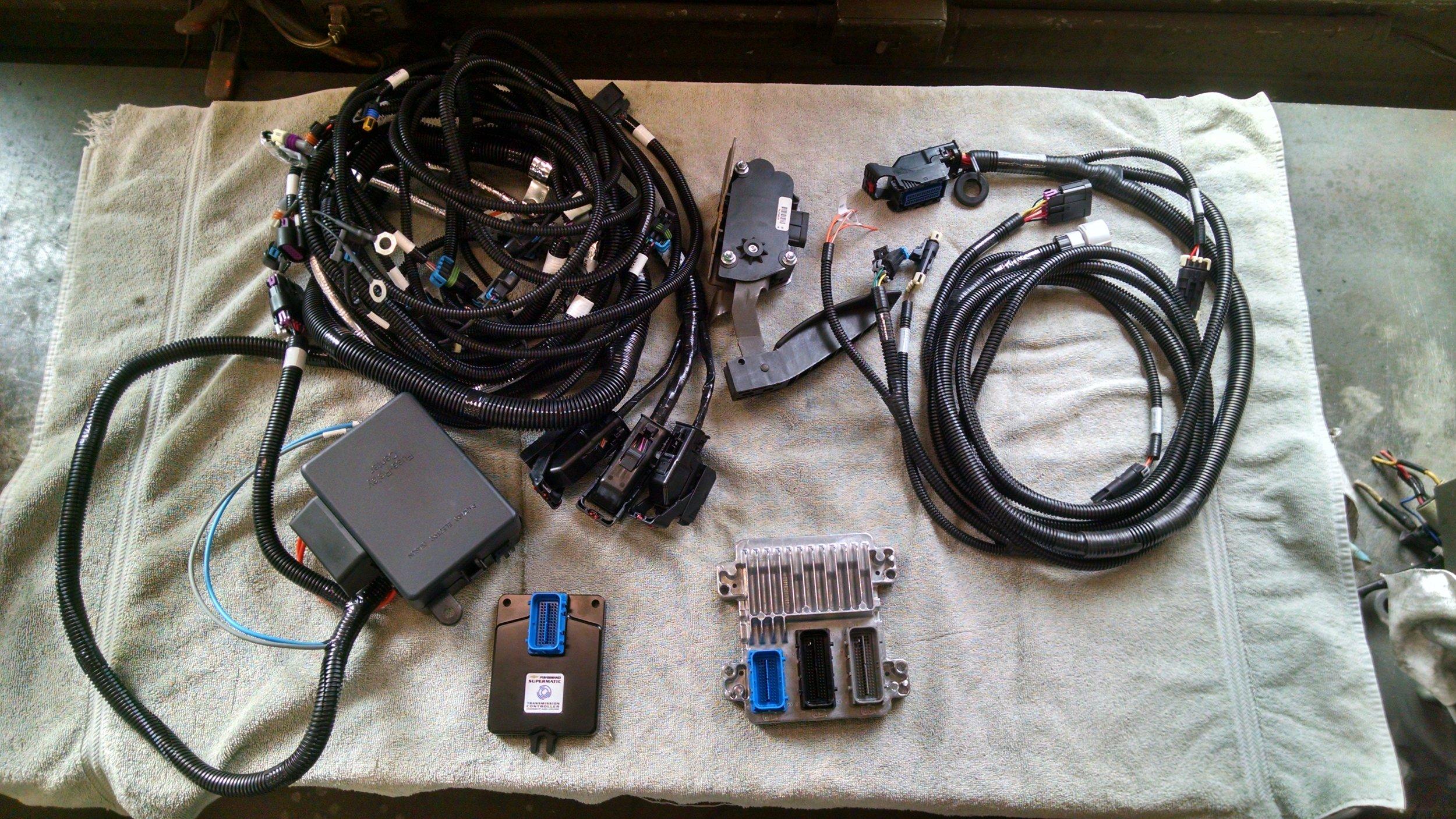 LS3/4L65E harness and ECUs