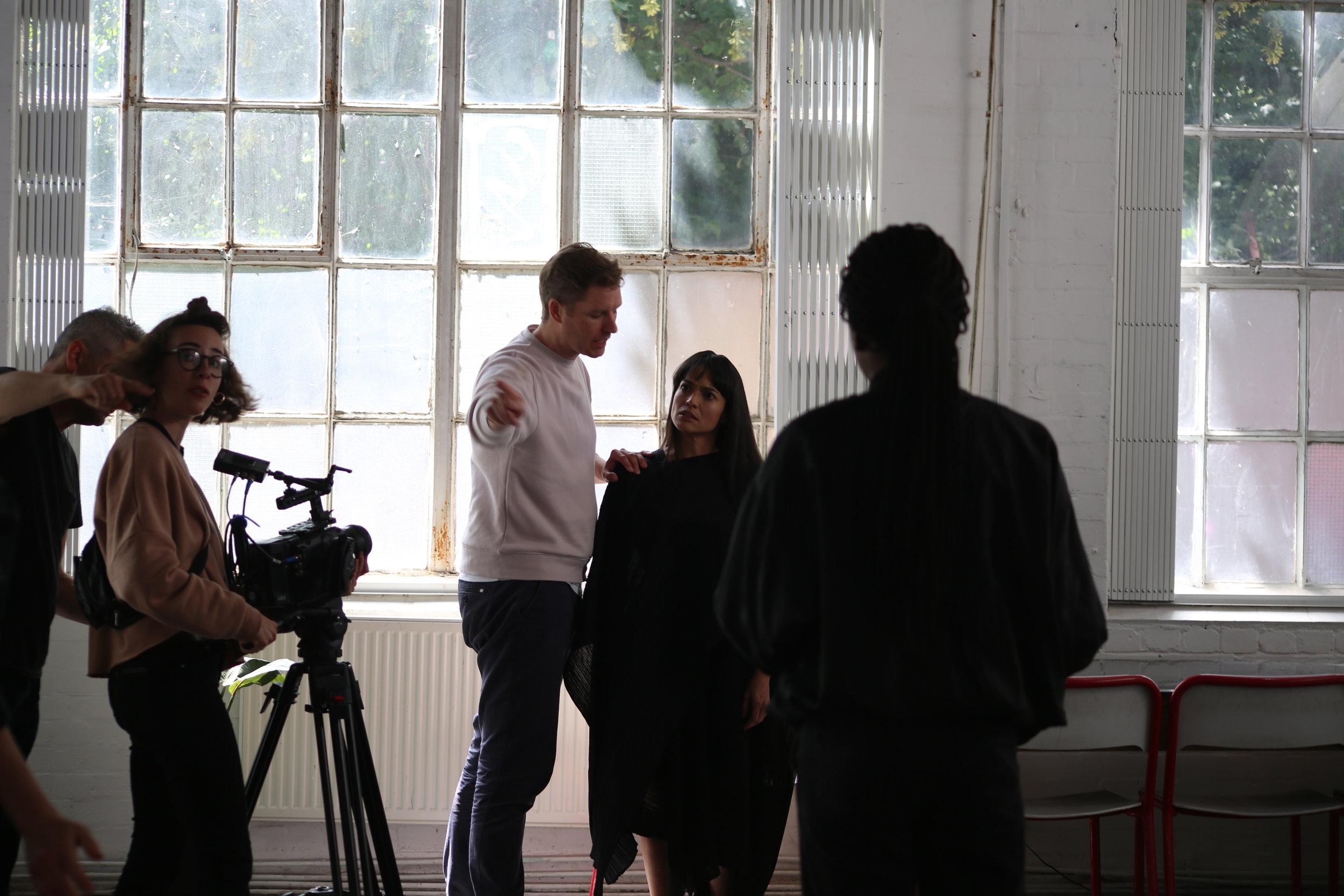Unfair Game (Kid Loco) Behind the Scenes Fernanda Lippi Alex Vendittelli 3 Photo by Priya Giga Maverick Motion.JPG.JPG
