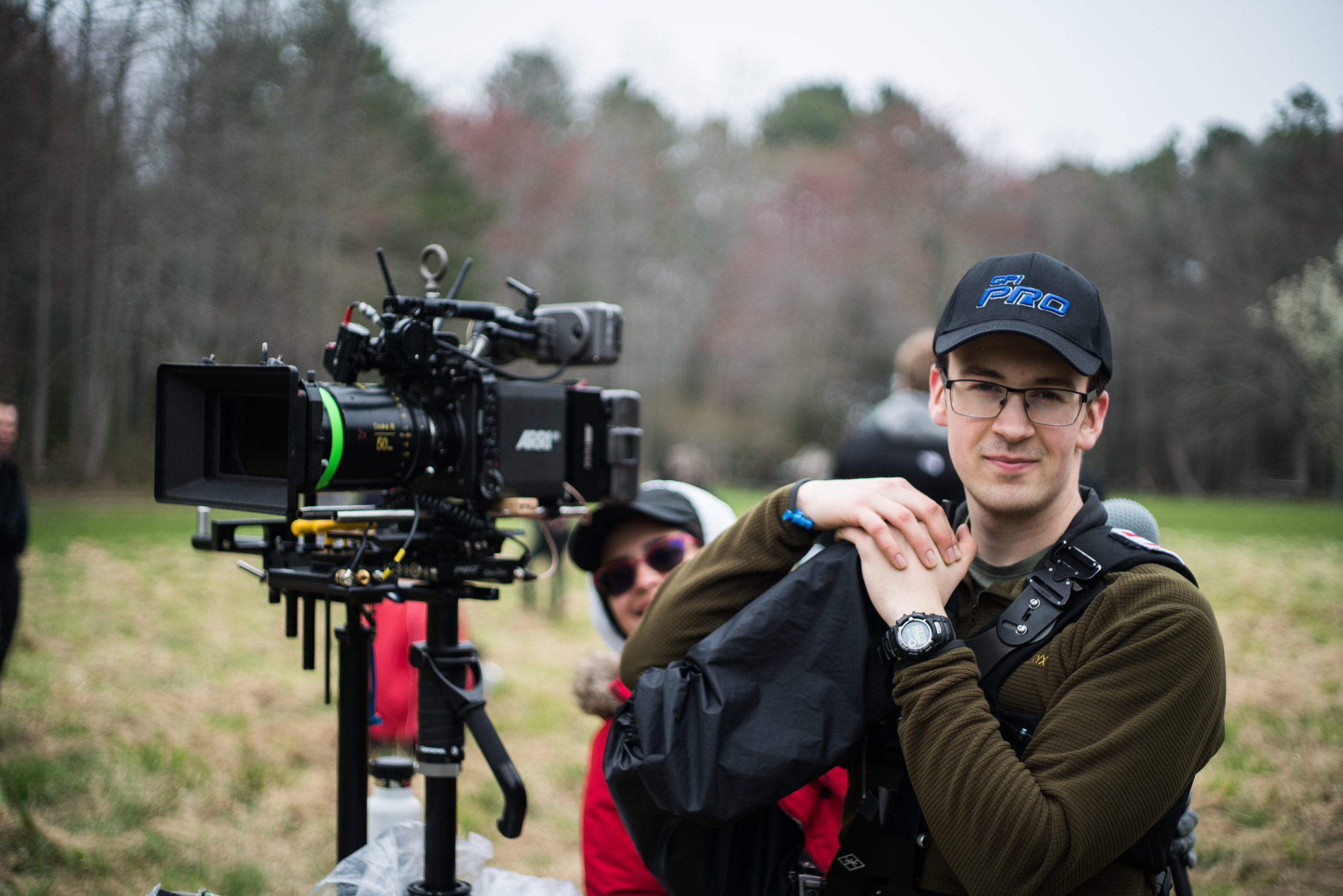 Calvin with Our build: An Arri Mini w/ Cooke Anamorphics.