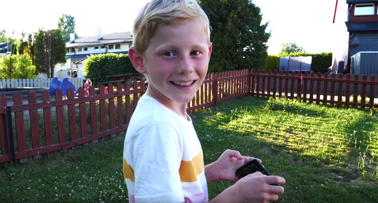Telenor  - Barn om egen mobilbruk