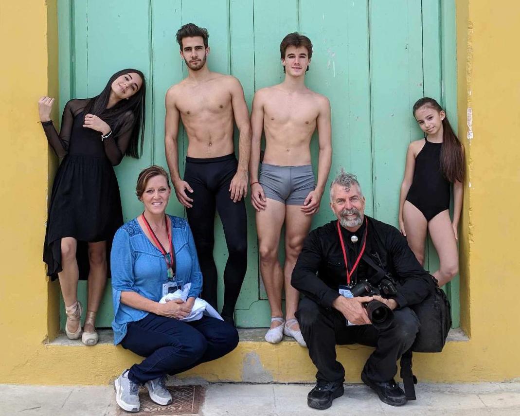 working in Habana Cuba with 3 dancers from Ballet Nacional de Cuba, and one aspiring sister