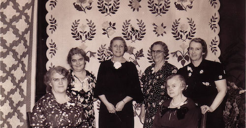 Tuley Park Exhibition, 1930s. Tuley Park Quilt Club. Chicago, IL.