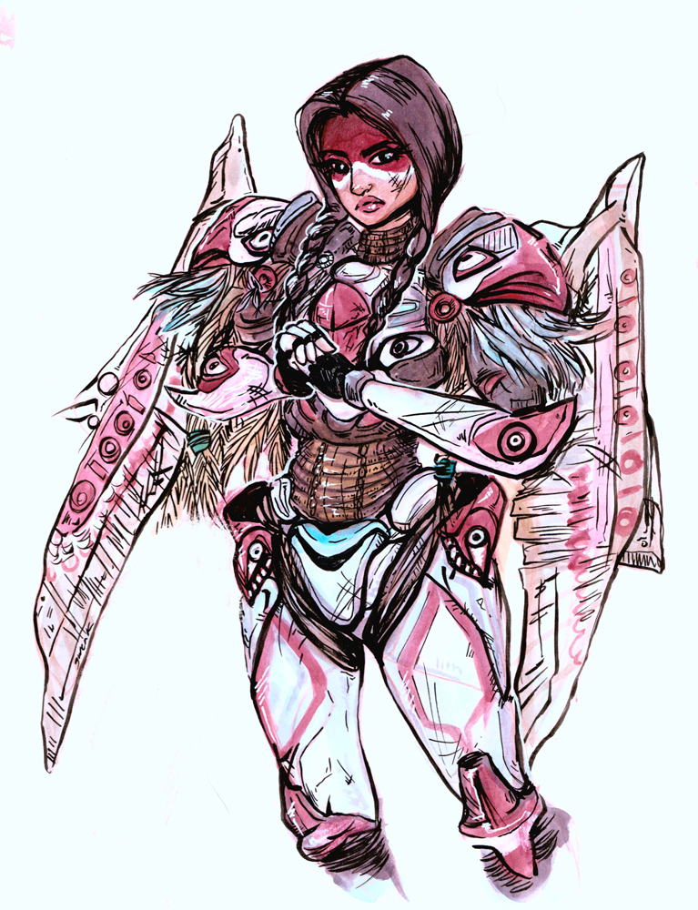 Pharah - Thunderbird