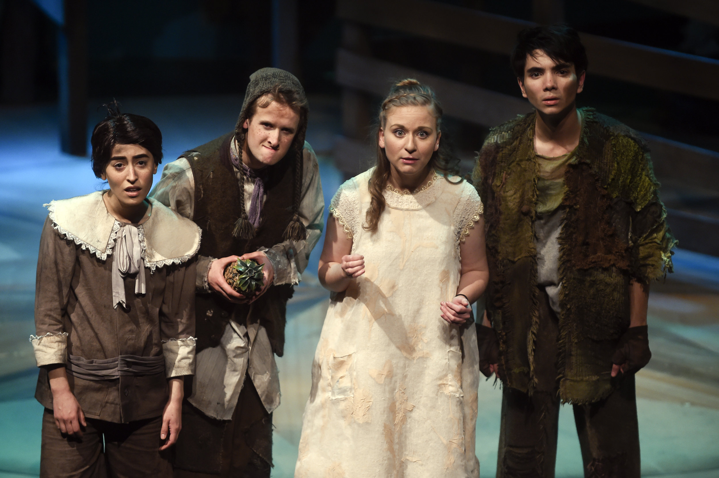 Playing Ted in Peter and the Starcatcher. Exit 22 Productions (2017)