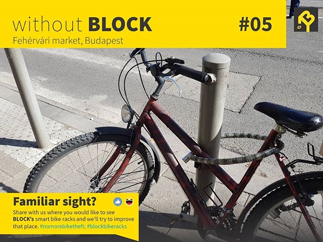 🤦🏻♂️🤦🏻♀️ 😆 Hit a like if you also noticed... This is why you should use #blockbikeracks . No more bike theft and messy parking!  #bikerack #nomorebiketheft #bikes  #bikesafety #biketheft #smartcity #cyclingtips #cycling #urbantech #urbaninfrastructure #startup #hungary #budapest
