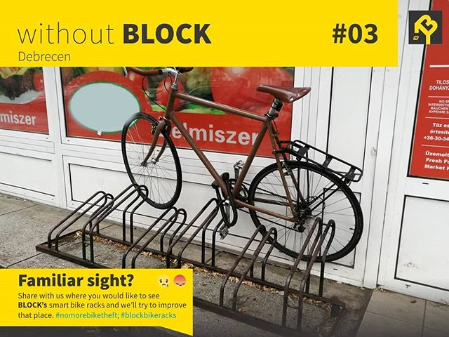 When the bike rack is so bad the only reasonable choice is this...🤦🏻♀️🤦🏻♂️ This pic was sent us by a dear follower, so if YOU see something funny or terrible, don't forget to share it with us.  #nomorebiketheft #blockbikeracks #bikesafety #biketheft #cycling #cyclingtips #bikerack #bikes #smartcity #urbantech #urbaninfrastructure #startup #innovation #hungary #budapest
