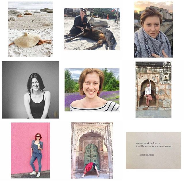 2018. Top nine. I see a lot more growth that I've experience in years. (And I don't just mean my hair length) I see so many more smiles, so much more joy, and loads of laughter. I see travel - to Paris, to India, Salt Spring Island. Love of words, flowers, nature, ice cream, overalls and calf cuddles on the banks of the Ganges. • There are images here that you don't see that were just as big a part of my year. Mostly of my incredible friends and communities who were instrumental in the growth and joy in my heart. It's connection to people that lifts my spirit. I could not have had the year I had without each and every one of you. I am forever and profoundly grateful. • This year with myself was like meeting a dear old friend that you haven't seen in years. You pick up right where you left off. You are so excited to hear their stories and are blown away by their wisdom, floored by their beauty and inspired by their grit and grace. You missed their shining face and laughter. You remember who they were, love who they've become and can't wait to see who they will be. 2018 was not without challenges, but a hell of a lot better than previous years. Little by little, slowly and gently, I have restored my nature and I am thrilled to welcome 2019 with open arms. . . . . . . #topnine #newyearsreflections #ayearinreview #travel #paris #india #saltspring #flowers #poetry #joy #smiles #canadiantuxedo #friends #wheelpose #travelingyogini #restoreyournature
