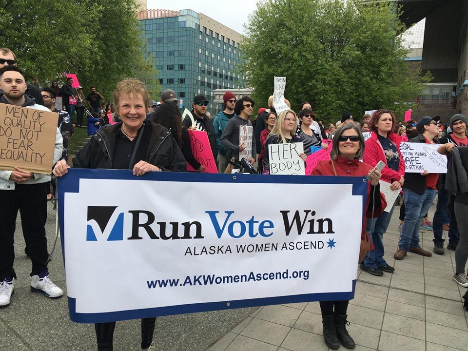 AWA Steering Committee Members Kay Brown and Anita Thorne