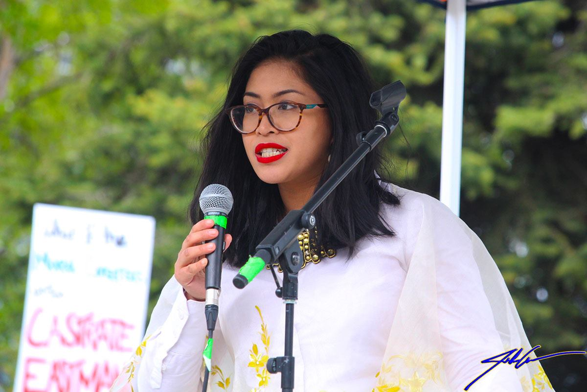 AWA Steering Committee Member Genevieve Mina