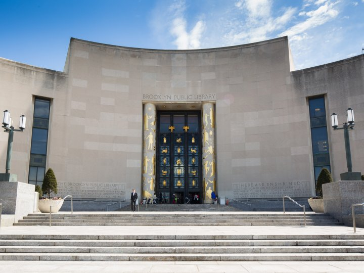 """saturday summer series @ brooklyn public library - FREE, all ages. Click HERE to RSVP.2019 Saturday Dates: 6/8, 6/15, 6/29, 7/6, 7/13, 7/20, 7/27Time: 10am-11amLocation: Central Library Plaza, 10 Grand Army Plaza. Outside on the library """"stoop""""."""