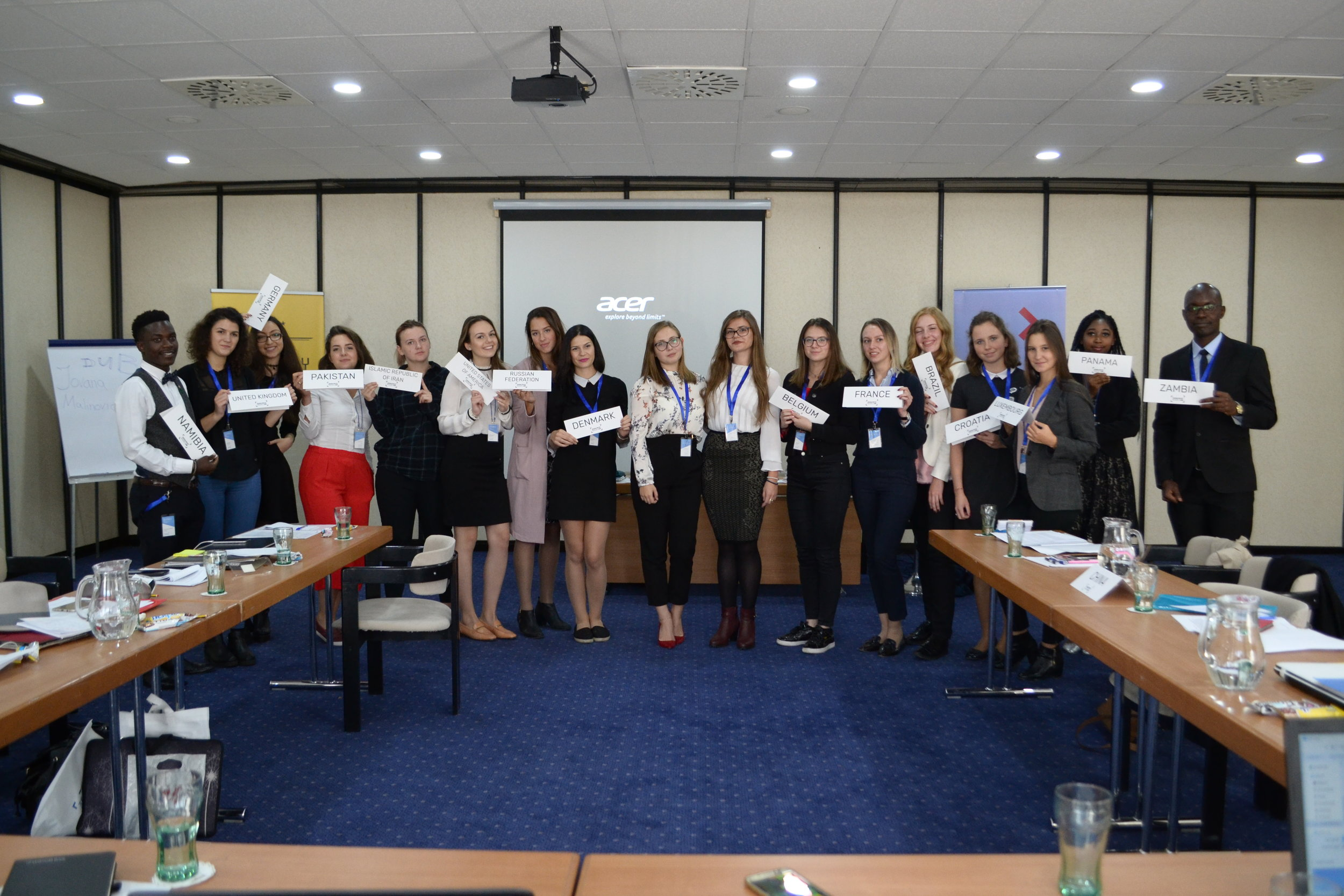 Sarajevo Model UN '17 - UN WOMEN