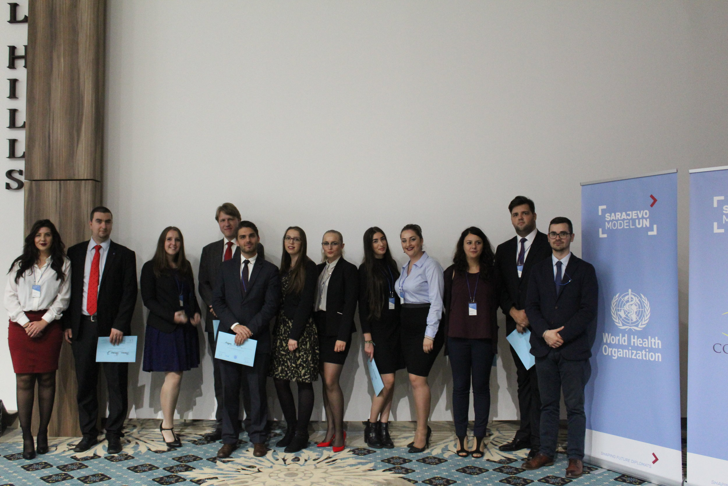 Sarajevo Model UN '16 - Organizers and Chairpersons