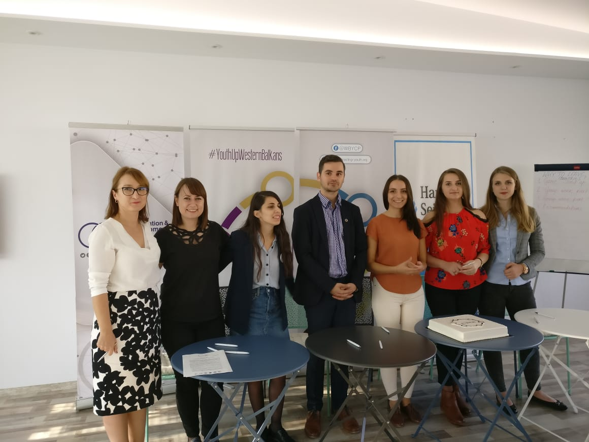 Representatives of Western Balkans Youth organizations