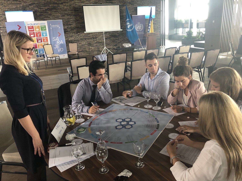 Sarajevo Model UN, workshops