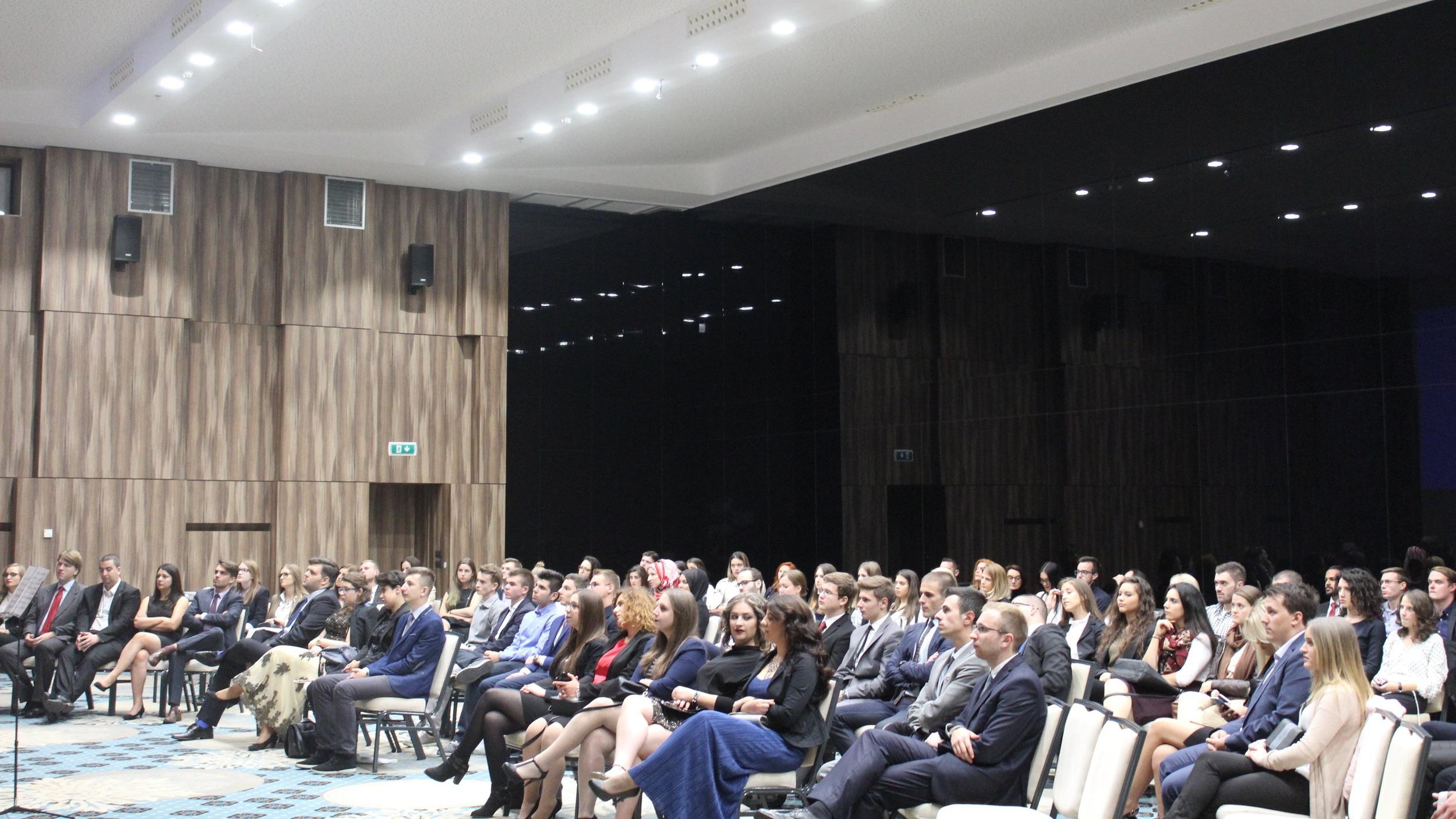 Sarajevo Model UN, Opening Ceremony