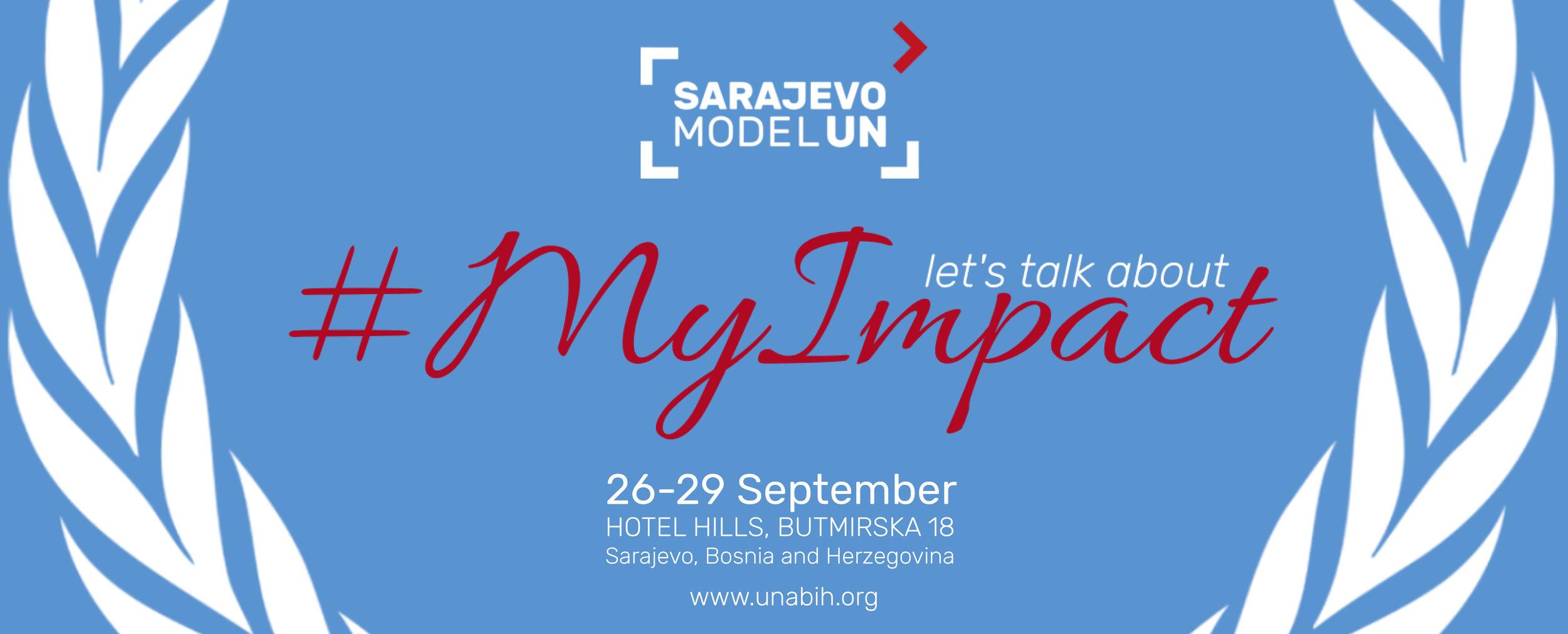 Sarajevo Model UN 2019 - My Impact